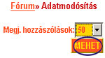 A Fórumban az egy oldalon megjeleníthető hozzászólások listája a Keresztenyrandi.hu internetes társkereső oldal rendszerében. társkeresés - társkeresők - fényképes - keresztény - keresztyény - külföldi - nemzetközi - hirdetések