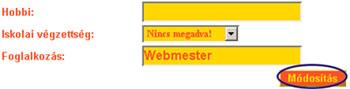 Néhány paraméter a profil személyes adataim részéből a Keresztenyrandi.hu internetes társkereső oldal rendszerében. társkeresés - társkeresők - fényképes - keresztény - keresztyény - külföldi - nemzetközi - hirdetések