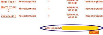 Új topic (téma) nyitása a Keresztenyrandi.hu internetes társkereső oldal fórumában. társkeresés - társkeresők - fényképes - keresztény - keresztyény - külföldi - nemzetközi - hirdetések