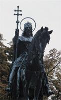 Szent István király lovasszobra. társkeresés - társkeresők - fényképes - keresztény - keresztyény - külföldi - nemzetközi - hirdetések